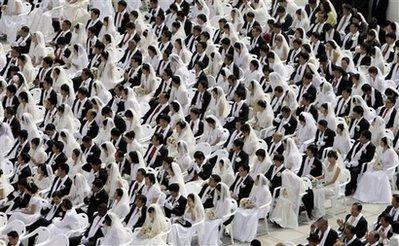 South Korea Mass Wedding